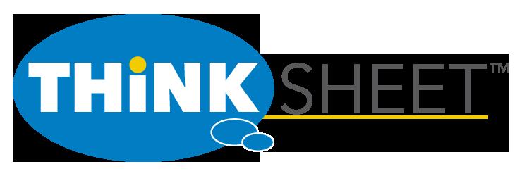THINKSheet – Ksheet